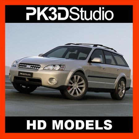 3d Subaru Custom Model