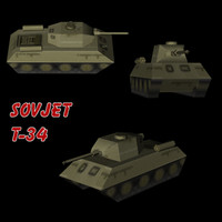 Tank T-34 Sovjet Army