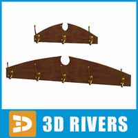 Coat rack by 3DRivers