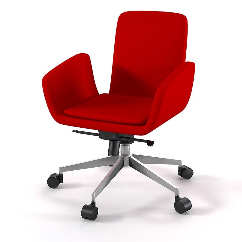 3d zanotta lord chair