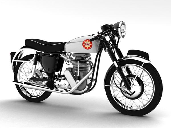 max bsa gold star 1960