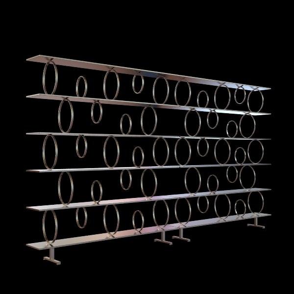3d model shelf unit contemporary