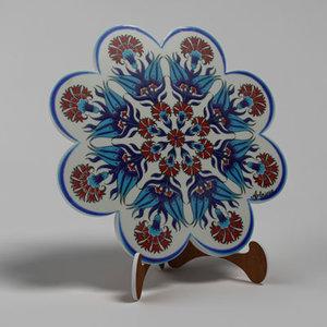 lwo decorative ceramic