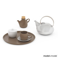Heath ceramics tea set