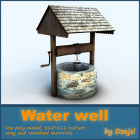 water exterior 3d 3ds