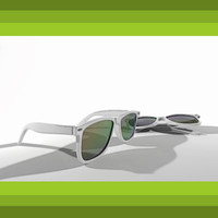 sunglasses style 3d dxf