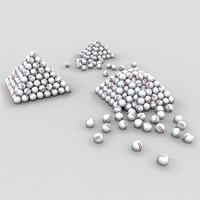 3d range ball pyramids