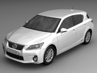 2011 Lexus CT 200 h Luxury Hatchback