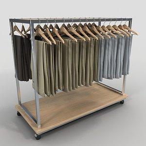 retail golf pants 3d 3ds