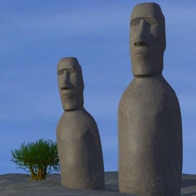 easter island head max