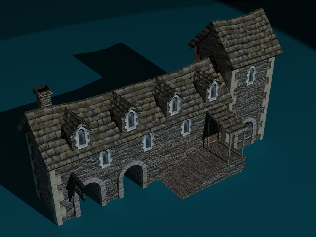 3ds max inn building