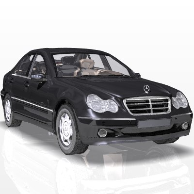 c-class car s luxury 3ds
