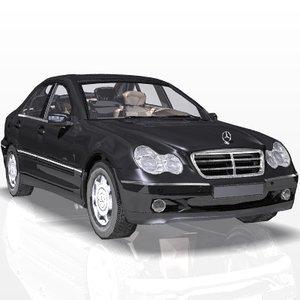 c-class car s luxury 3ds