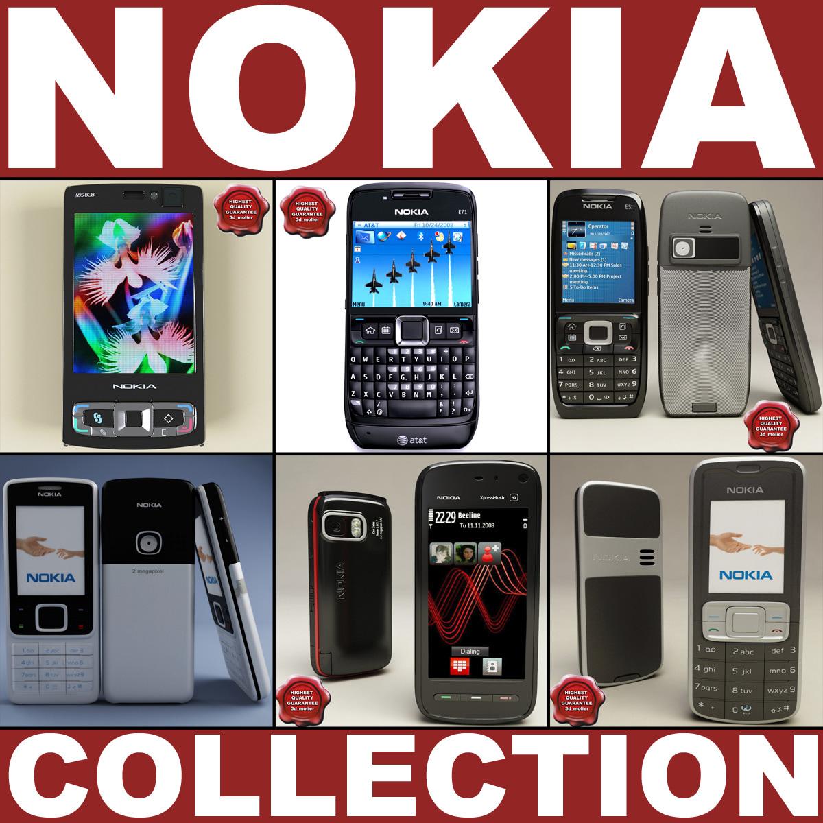 3d nokia phones v3 model