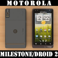 motorola milestone droid 2 3ds