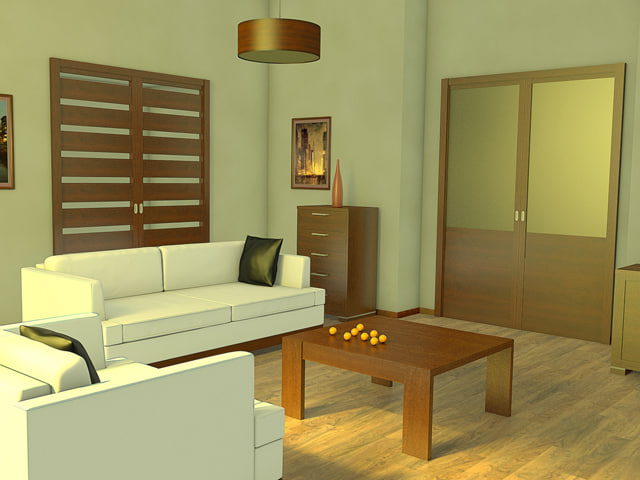 interior light 3d model