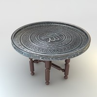 copper tray table sini max
