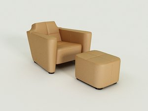3d alhambra chair model