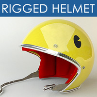 Pacman rigged helm