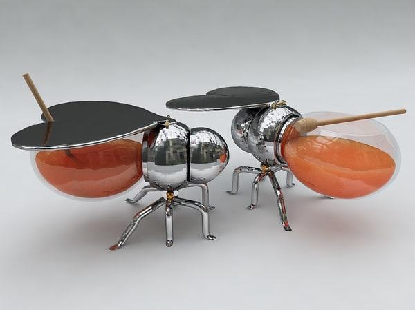 c4d honey bee