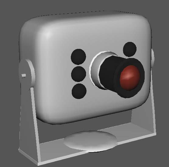 3ds max wireless camera
