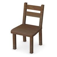 chair kitchen 3d model