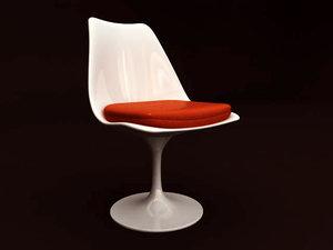 3d max eero saarinen tulip chair