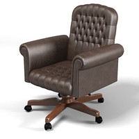 mascheroni classic tufted office chair armchair
