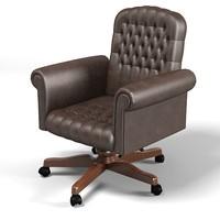 mascheroni classic tufted office chair armchair