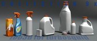 lwo containers bottle