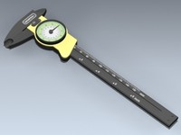 dial calipers 3d model