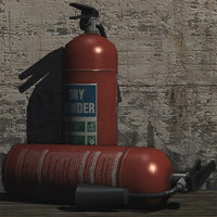 prop fire extinguisher