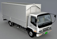 3d model isuzu forward