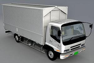 3d model isuzu forward