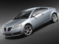 pontiac g6 coupe 3d max