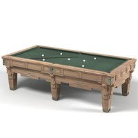 3d pool table classic