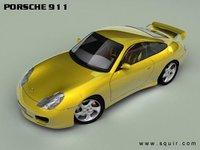 porsche 911 2003 sport coupe 3d model