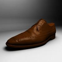 Dress Shoe Scan