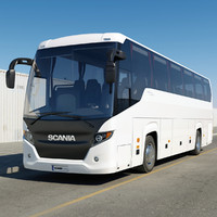 scania touring 2010 3d model