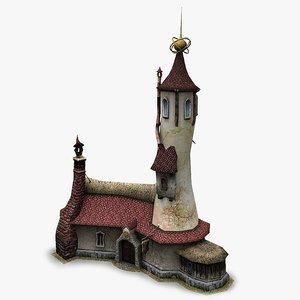 3d model wizard shop