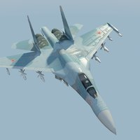 Su27 Flanker Russian