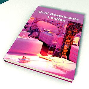 3d model book libro
