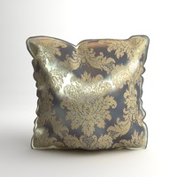 Brocade Decorative Pillow Photoreal