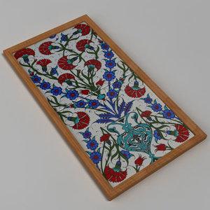 decorative ceramic 3d model
