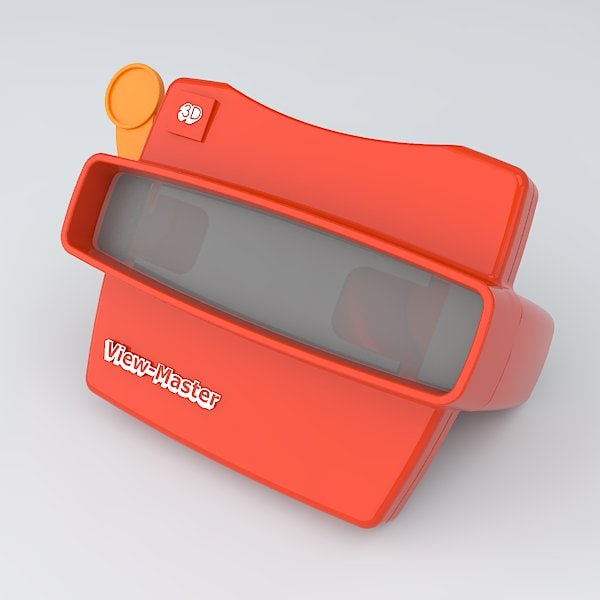 view master 3d model