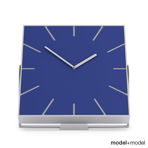 free 3ds model clock diamantini domeniconi snap