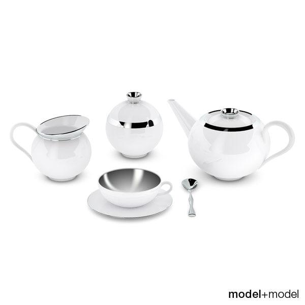 dxf set treasure tea sieger