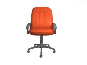 executive chair 3d max