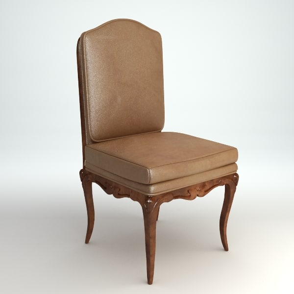 traditional chair 3d model