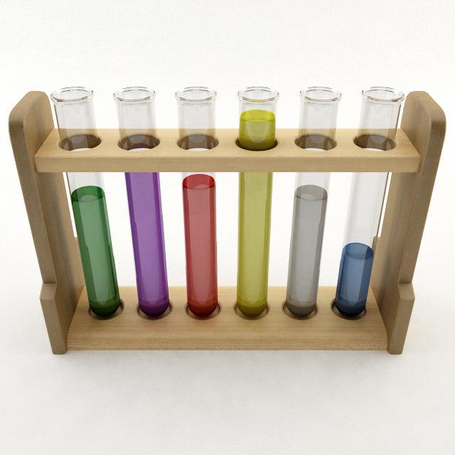 test tube 3d 3ds